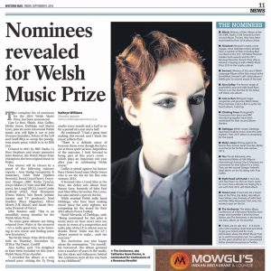 Anchoress welsh music prize